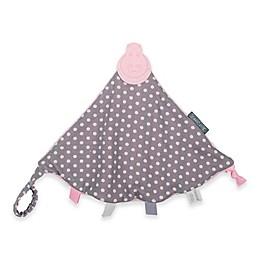 Cheeky Chompers® Comfortchew® Polka Dot Teething Comforter in Pink