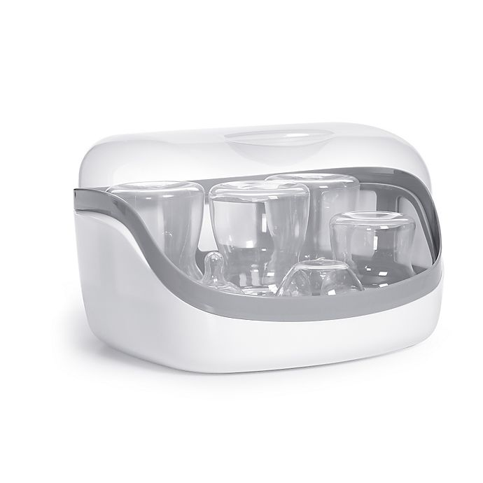Alternate image 1 for Chicco® Microwave Steam Sterilizer in White