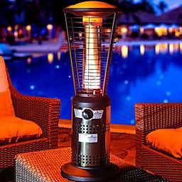 Lava Heat Italia Mini Ember Tabletop Liquid Propane Outdoor Heater