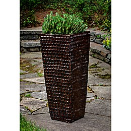 Campania International Square Ceramic Planter
