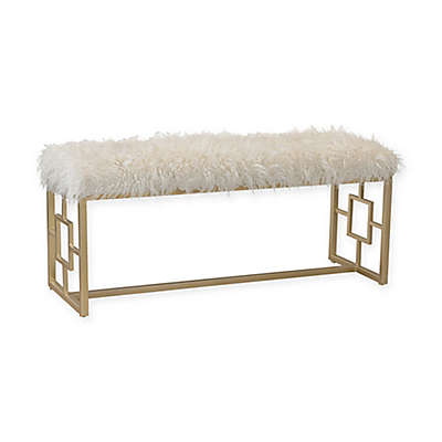 Sterling Industries Betty Retro Double Bench in White