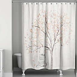 Fall in Love Shower Curtain