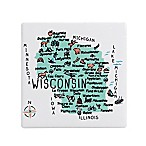 My Place Wisconsin Coasters (Set of 4)