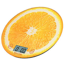 Taylor® Digital Kitchen Scale in Orange