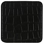 Thirstystone® Faux Crocodile Print Coaster in Black