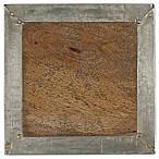Thirstystone® Mango Wood Clad Coaster in Brass