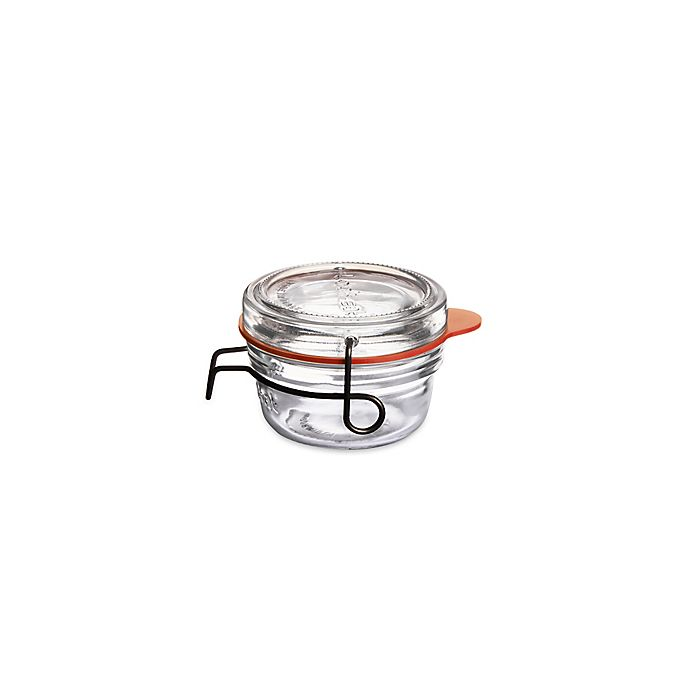 Alternate image 1 for Luigi Bormioli™ Lock-Eat 2.75 Oz. Glass Canning Jar with Removable Lid