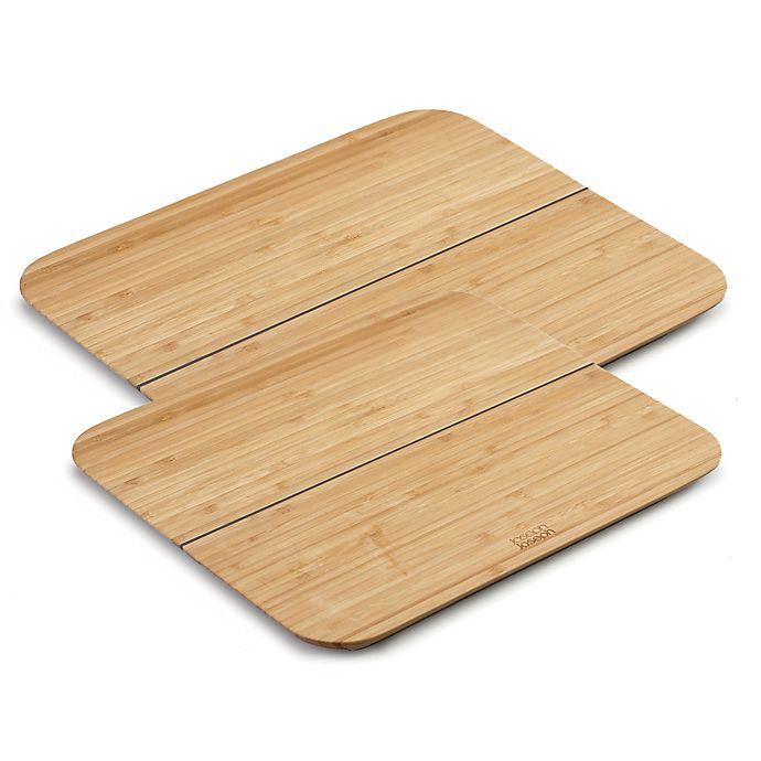 Alternate image 1 for Joseph Joseph® Chop2Pot™ Bamboo Cutting Board