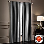 SmartBlock™ Chroma 63-Inch Rod Pocket Blackout Window Curtain Panel in Charcoal