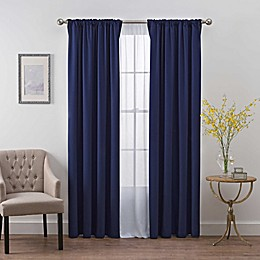 SmartBlock™ Chroma Back Tab 100% Blackout Window Curtain Panel