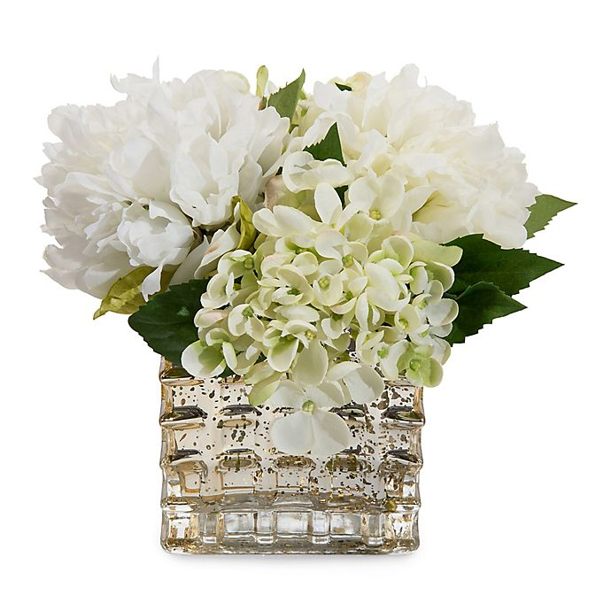 John Richard Fresh White Floral Artificial Flowers Bed Bath Beyond