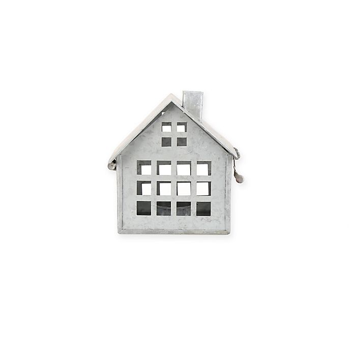 Alternate image 1 for Beekman 1802 Heirloom Holiday Galvanized Metal House, Small