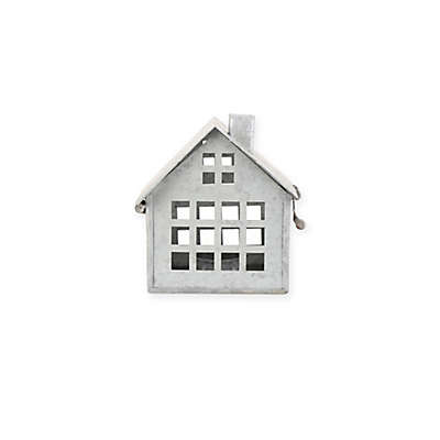 Beekman 1802 Heirloom Holiday Galvanized Metal House, Small