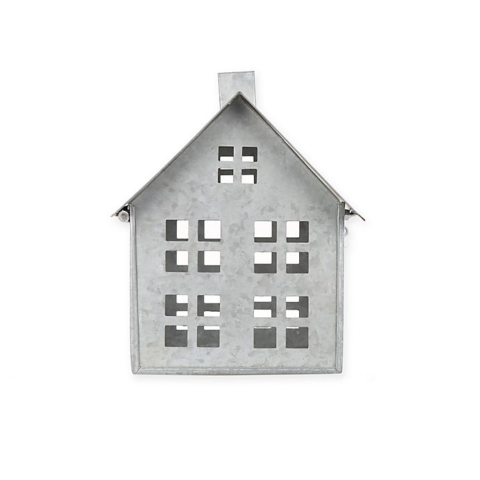 Alternate image 1 for Beekman 1802 Heirloom Holiday Galvanized Metal House, Medium