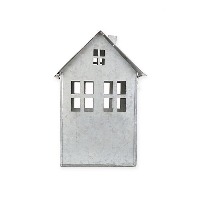 Alternate image 1 for Beekman 1802 Heirloom Holiday Galvanized Metal House, Large