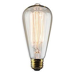 Luminance Nostalgia Reprod 60-Watt S21 Amber Vintage Light Bulb