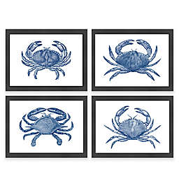 Americanflat Crab Framed Wall Art Collection