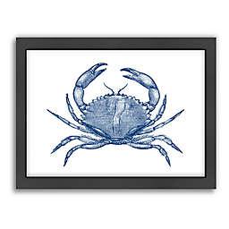 Americanflat Crab Quad 1 Framed Wall Art