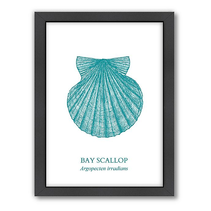 Alternate image 1 for Americanflat Original Samantha Ranlet Collection Scallop Wall Art