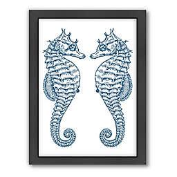 Americanflat Samantha Ranlet Double Seahorse Ocean Wall Art