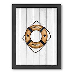 Americanflat Lifesaver Wood-Framed Wall Art