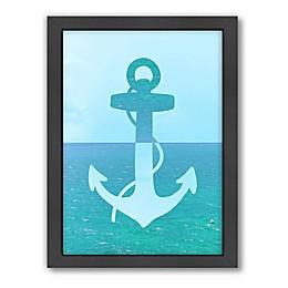 Americanflat Ocean Anchor Framed Wall Art