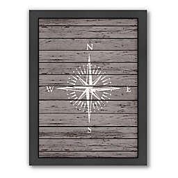 55ea3737b1 Americanflat Wood Quad Compass Framed Wall Art