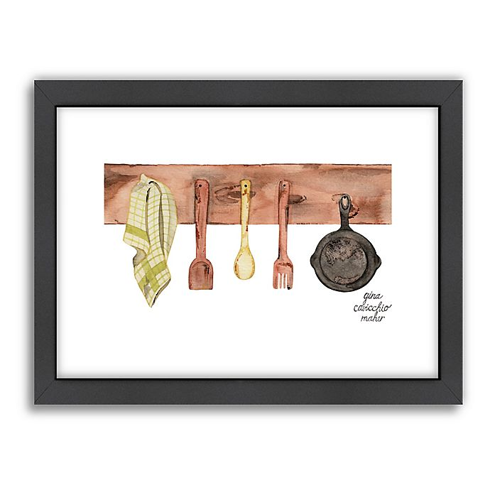 Kitchen Wall Decor Bed Bath And Beyond: Buy Americanflat Gina Maher Rustic Kitchen Wall Art From