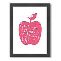 Americanflat Jilly Jack Designs Fruit Apple Matte Print with Frame