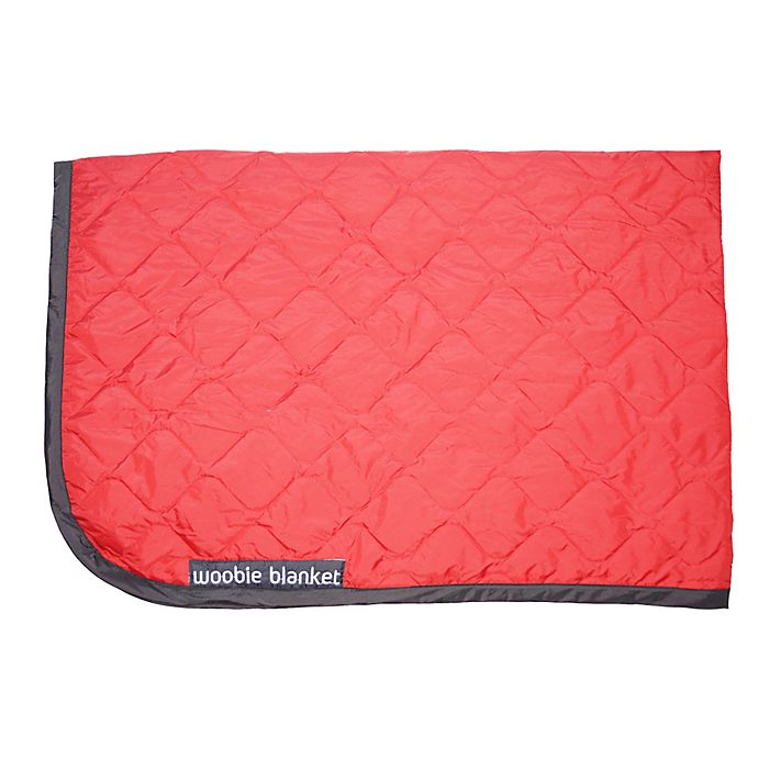 Alternate image 1 for Woobie Blanket in Red with Black Edge