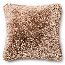 Loloi Shaggy 22-Inch Square Throw Pillow