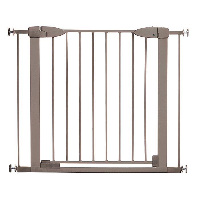 Alternate image 1 for Dreambaby® Boston Auto-Close Security Gate in Taupe
