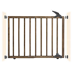 Dreambaby® Nottingham Wooden Walk Through Gro-Gate® in Driftwood