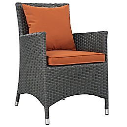 Modway Sojourn Outdoor Dining Armchair in Sunbrella® Canvas