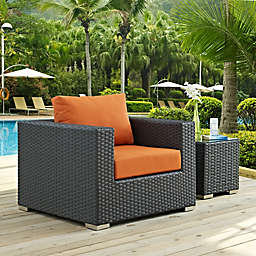 Modway Sojourn Outdoor Armchair in Sunbrella® Canvas