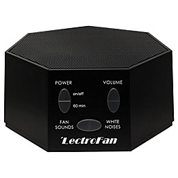 LectroFan Sound Therapy Machine in Black