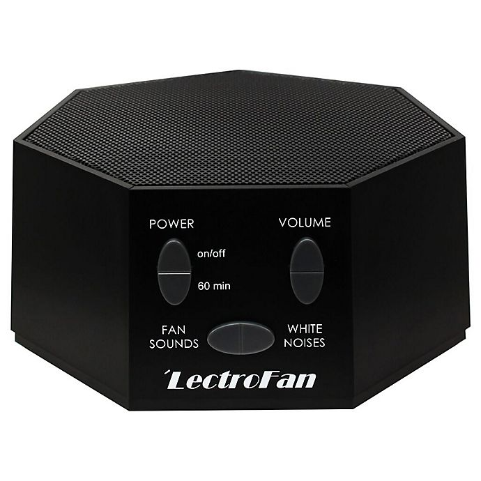 Alternate image 1 for LectroFan Sound Therapy Machine in Black