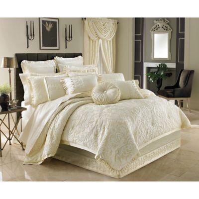 J Queen New York Marquis Queen Comforter Set Bed Bath