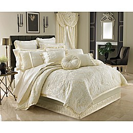 J. Queen New York™ Marquis Queen Comforter Set in Ivory