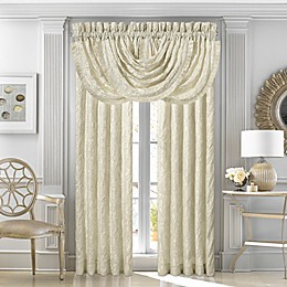 J. Queen New York™ Marquis Rod Pocket Window Curtain Panel Pair and Valance