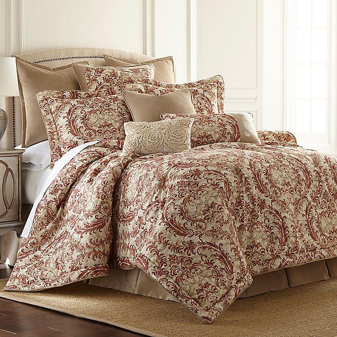 Alternate image 1 for Sherry Kline Savannah California King Comforter Set in Cinnamon