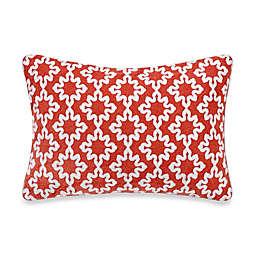 Anthology™ Jodhpur Ogee Oblong Throw Pillow in Orange