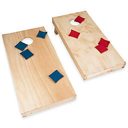 Trademark Games Do-It-Yourself Regulation Size Cornhole Boards and Bags Set