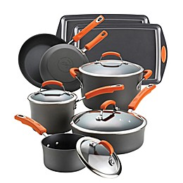 Rachael Ray™ Hard-Anodized II Nonstick 12-Piece Cookware Set and Open Stock Collection