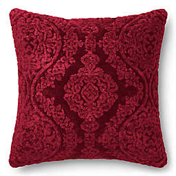 Loloi Chenille Damask 22-Inch Square Throw Pillow