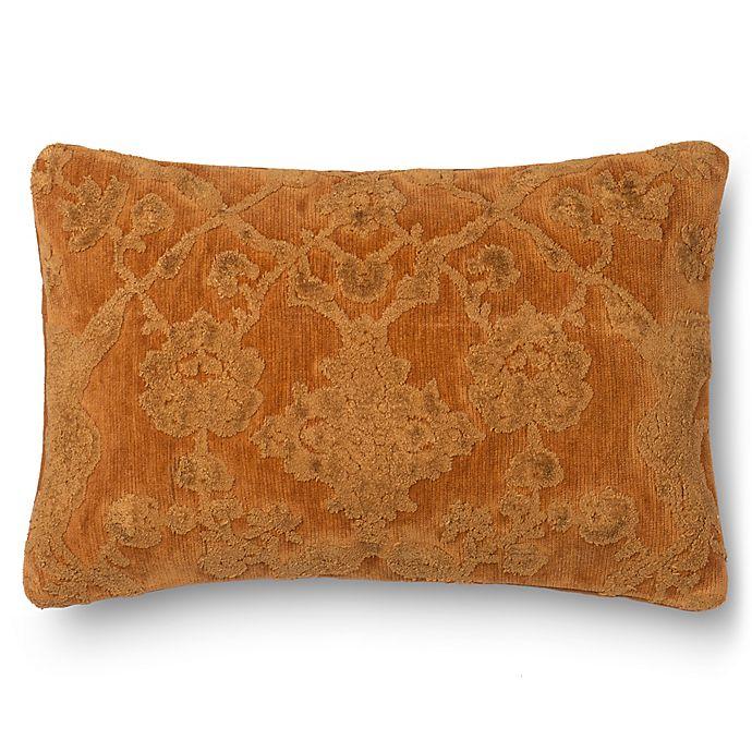 Alternate image 1 for Loloi Flower Latticework 14-Inch x 22-Inch Oblong Throw Pillow