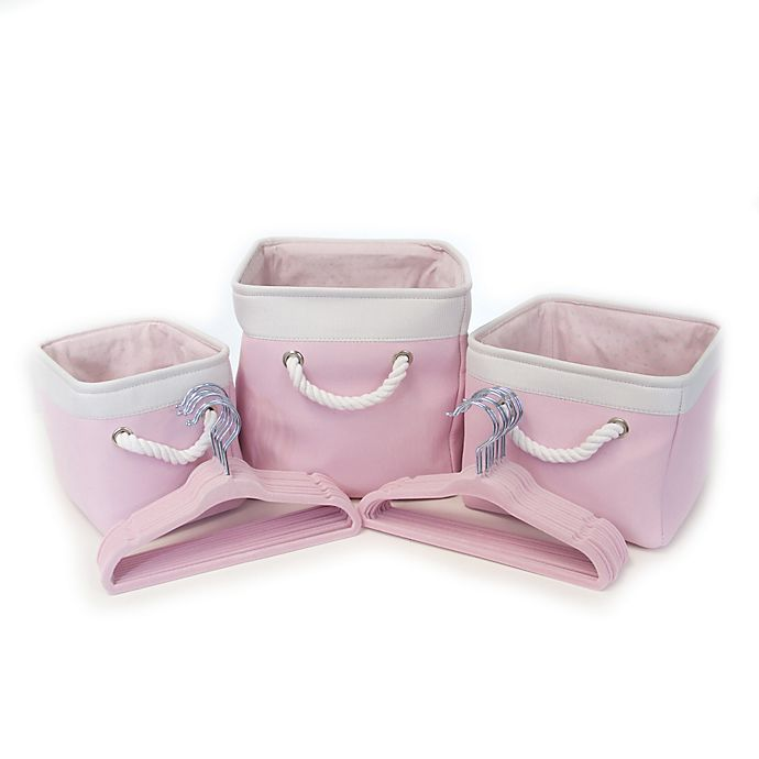 Alternate image 1 for Closet Complete® 23-Piece Baby Shower Gift Set in Pink