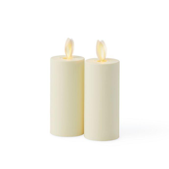 Luminara® Flameless Votive Candles in Ivory(Set of 2 ...
