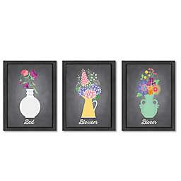 Americanflat Jilly Jack Designs Floral Wall Art