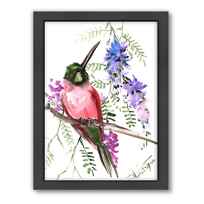 Alternate image 1 for Pink Bee Eater 2 Wall Art